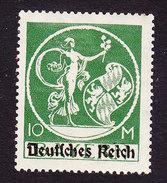 Bavaria, Scott #274, Mint Hinged, Genius Overprinted, Issued 1920 - Bavaria
