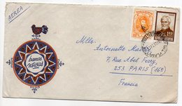 Brésil -1974---lettre De MAR DEL PLATA  Pour PARIS (France)--timbres Sur Lettre- Cachet - Cartas
