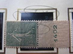VEND BEAU TIMBRE DE FRANCE N° 130 , TYPE III , + BDF , XX !!!! - 1903-60 Semeuse Lignée