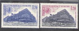 Europarat Frankreich 23 - 26 Palais De L´Europe Straßburg MNH  Postfrisch ** - Joint Issues