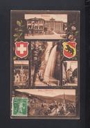Schweiz AK Biel 5 Ansichten 1909 - BE Bern