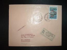 LR TP CHATEAU DE VAL 2,30 OBL.26-7-1968 MULHOUSE R. DU MOULIN (68 HAUT-RHIN) - Postmark Collection (Covers)