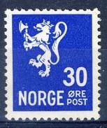 #Norway 1941. Lion-type. Michel 226. MH(*). - Norvège