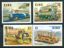 1993 Irlanda Autobus Bus Set MNH** Tra34 - Bus