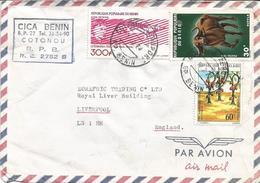 Benin 1978 Cotonou Aeroport Lindbergh Aviation Cocoa Buffalo Cover - Benin – Dahomey (1960-...)