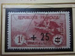 VEND BEAU TIMBRE DE FRANCE N° 168 , XX !!!! - France