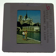 Claire Severac Et David Soul à Paris 1985 - 3 Diapositives De Presse  Diapositive Slide - Série TV - Photos
