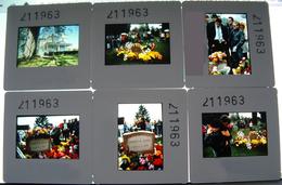 James Dean Anniversaire De Sa Mort 1985 - 12 Diapositives De Presse - Cinéma Acteur Américain - Photos