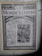 LE MONDE ILLUSTRE 4 Aout 1900 N° 2262  L'EXPOSITION DE 1900- L'assassinat Du Roi HUMBERT-le Chah De Perse à Paris - 1900 - 1949