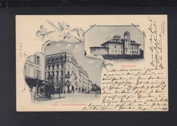 Schweiz AK Bern Gesellschaftstrasse Sternwarte 1899 - BE Bern