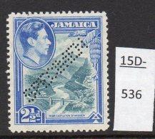 Jamaica Waterlow 1938 2½d River Bridge Perforated SPECIMEN MH SG 125s - Jamaica (...-1961)
