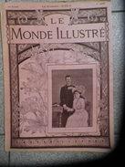LE MONDE ILLUSTRE 11 Aout 1900 N° 2263  L'EXPOSITION DE 1900- L'assassinat Du Roi HUMBERT-le Chah De Perse à Paris - 1900 - 1949