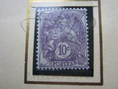 VEND BEAU TIMBRE DE FRANCE N° 233 , XX !!!! - 1900-29 Blanc