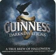 Lote U52, USA, Posavaso, Coaster, Guinness, Darkness Reigns - Sous-bocks