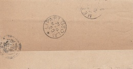 Lipari. 1890. Annullo Grande Cerchio Al Verso Di Franchigia LIPARI (ISOLA). ANNULLO RARO DI PICCOLA ISOLA. - 1878-00 Humberto I