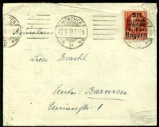 Deutsche Reich Bayern 1919 Mit Mi 172 A - Bayern