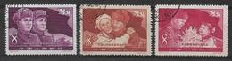 CHINE 1958 - Timbres N°1168 à N°1170 (3 Valeurs) - Oblitérés - 1949 - ... People's Republic