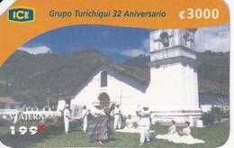TARJETA DE COSTA RICA DEL GRUPO TURICHIQUI - Costa Rica