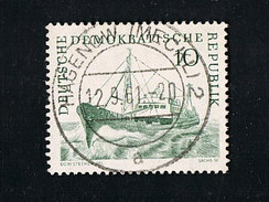 1961 Hochseefischerei Spzialität Michel 817 Mit Wassezeichen 3 X Schön Gestempelt Siehe Scan - Abarten