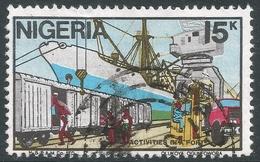 Nigeria. 1986 Nigerian Life. 15k Used. SG 517 - Nigeria (1961-...)
