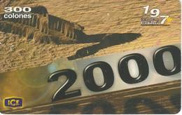 TARJETA DE COSTA RICA DE VISION 2000 - Costa Rica