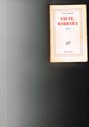 Anna LANGFUS  -  Saute Barbara - Roman - NRF Gallimard - Livres Dédicacés