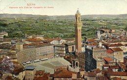 SIENA - Panorama Della Città Dal Campanile Del Duomo - Formato Piccolo - Siena