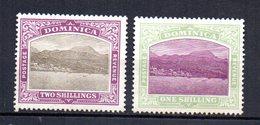 Sellos Nº 41/2 Dominica - Dominica (...-1978)
