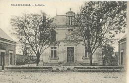 Ville-sur-Terre (10 - Aube) La Mairie - France