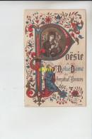 Poesie A Notre Dame De Perpetuel Secours - Devotieprenten