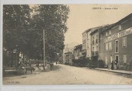 11 Aude - Limoux  Avenue D'alet Hotel De France - Limoux