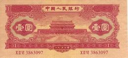 CHINA 1 YUAN 1953 P-866 AU REPLICA [CN4078a] - Chine