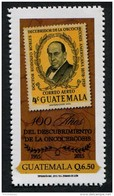 Guatemala (2015) - Set -  / Doctor Rodolfo Robles - Medecin - Cancer - Health - Stamp On Stamp - Timbre Sur Timbre - Disease