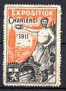 Viñeta De Exposicion Charleroi De 1911. - Belgium