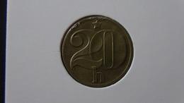 Czechoslovakia - 1984 - 20 Heller - KM 74 - VF - Look Scans - Tschechoslowakei