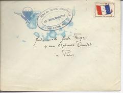 """Pau """"école Des Troupes Aéroportées -camp D'Astra, Pau- Le Vaguemestre"""" - Marcophilie (Lettres)"""