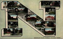 Michigan State Normal College Views - Etats-Unis