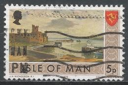 Isle Of Man 1973. Scott #20 (U) Peel, Castle And Shore - Man (Ile De)