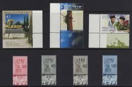 ISRAELE 2003 LOTTO 4 SERIE COMPLETE UNIFICATO 1662 : 1663 : 1664 : 1655 -1658 GOMMA INTEGRA MNH ** - Israele