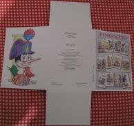 Set Pazzle Pinocchio Fairy With Blue Hair Cofanetto Gruppo 11+2 Cartoline Pinocchio E I Carabinieri  Fiabe Pescia Lotto - Fiabe, Racconti Popolari & Leggende