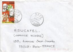 Benin 1991 Save Lepra Hansen Follereau Cover - Benin – Dahomey (1960-...)
