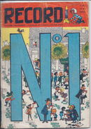 RECORD- N° 1-- LES DEBUTS DES AVANTURES D IZNOGOOD-  1962- 3 SCANS- USAGE- MAIS COMPLET - Magazines Et Périodiques