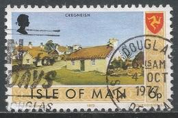 Isle Of Man 1973. Scott #21 (U) Cregneish Village * - Man (Ile De)