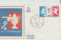 Timbre Sur Lettre  Paris 1977 - Marcophilie (Lettres)