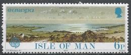 Isle Of Man 1977. Scott #99 (MNH) Europa: Carrick Bay From Torn-the-Dipper's - Man (Ile De)
