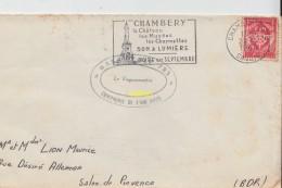 Timbre Sur Lettre 1964 - Marcophilie (Lettres)
