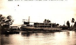AF 20 / C P A  - GABON  PORT-GENTIL -LE VAPEUR D' JAME  EN REPARATION  SUR LE SLIPP - Gabon