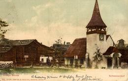1904 VILLAGE SUISSE SCHWEIZERDORF  SCHWEIZ SWITZERLAND SVIZZERA Suisse SUIZA - Sonstige