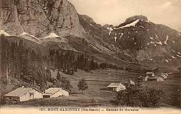 CPA - Environs De MONT-SAXONNEX (74) - Aspect Du Hameau De MORSULAZ Au Début Du Siècle - Other Municipalities