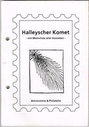Sammlung Zum Kometen Halley überwiegend Postfrisch, Einzelne Gestempelte Ausgaben